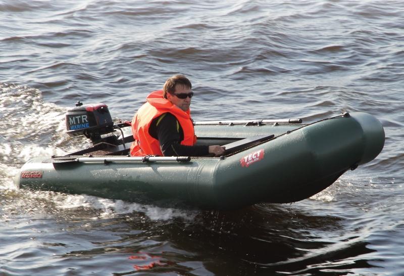 лодка leader тайга 340